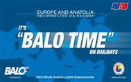 IT'S BALO TIME ON RAILWAYS